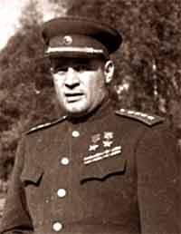 Командующий 3-м Белорусским фронтом генерал И.Д.Черняховский