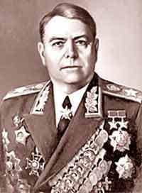 Маршал А.М. Василевский
